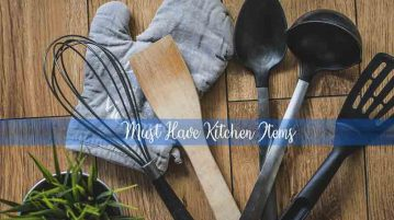 must have kitchen items