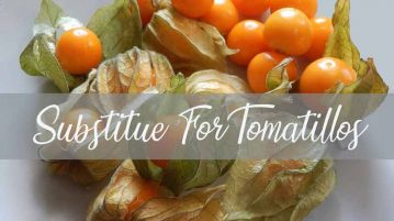 substitute for tomatillos