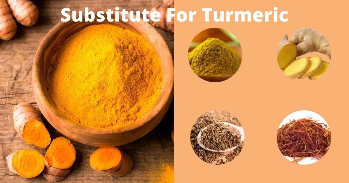 Substitute for turmeric