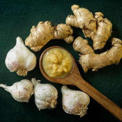 Garlic or Ginger