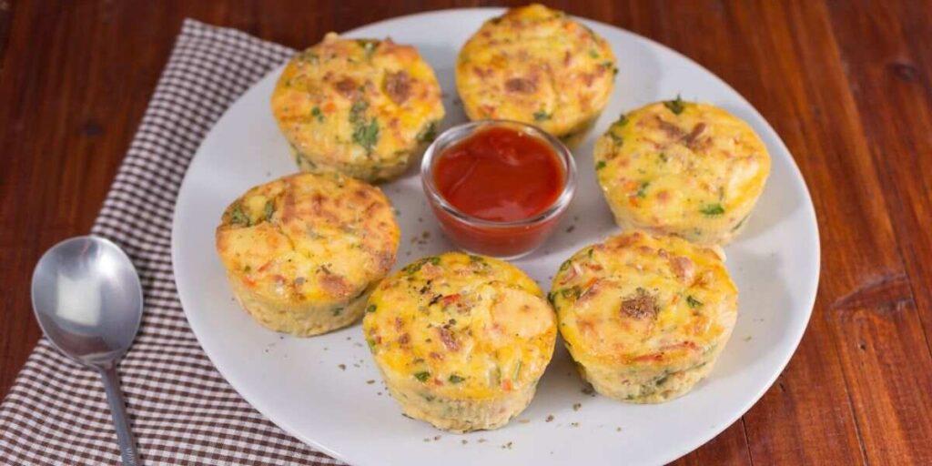 Egg, Chicken & Cheese Muffin