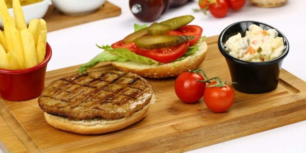 Stovetop Frozen Burgers