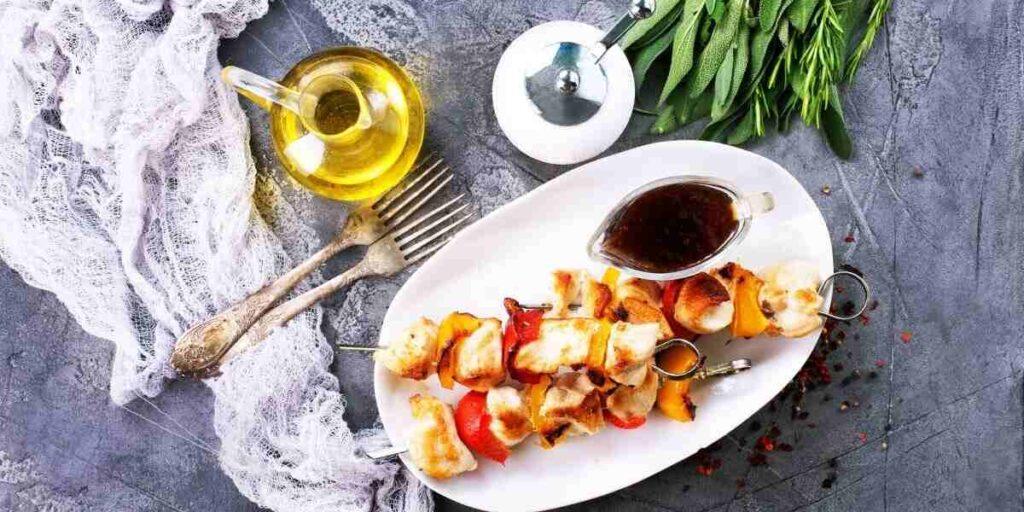Asian Chicken Kebab